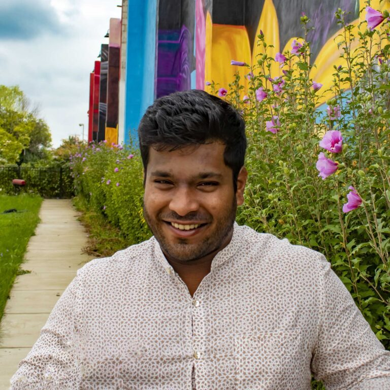 Ishaan Pathak Ⓒ Edward Weiss for the Central Baltimore Partnership